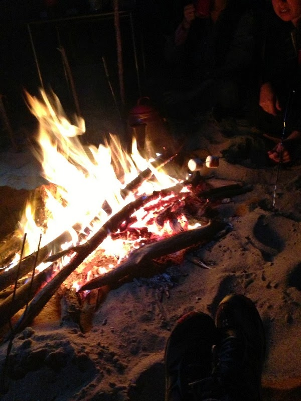 Helena Arkansas - Canoeing The Mississippi River - Campfire on Buck's Island