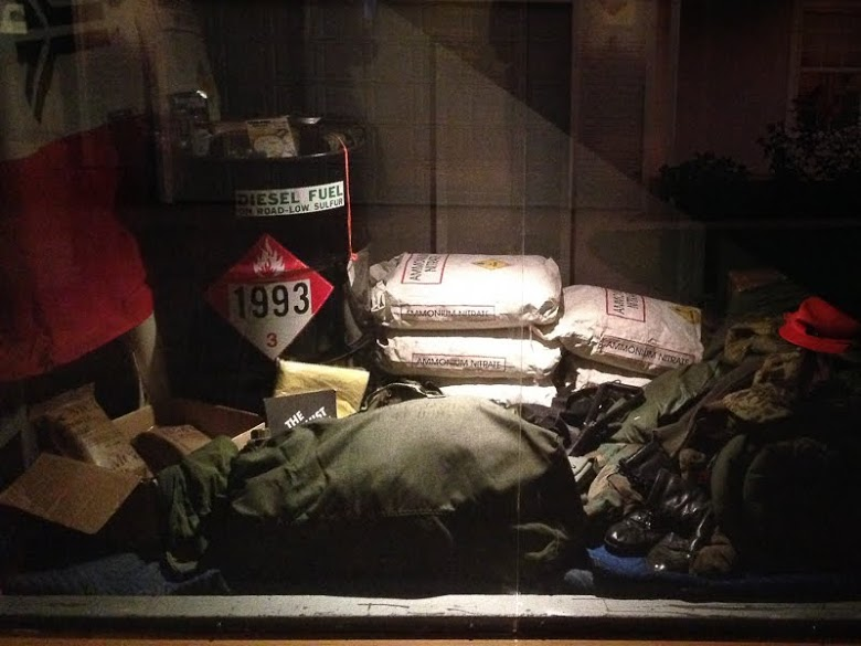 Only in Arkansas - Clinton Library Spy Exhibit - explosives