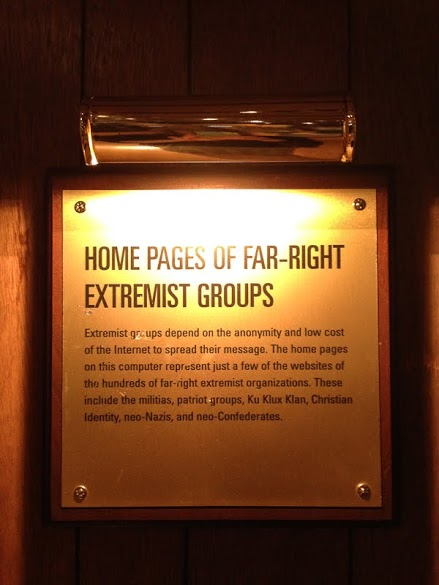 Only in Arkansas - Clinton Library Spy Exhibit - Extremists