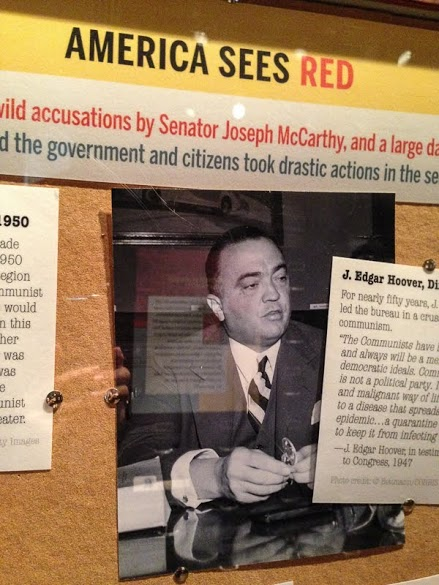 Only in Arkansas - Clinton Library Spy Exhibit - Hover