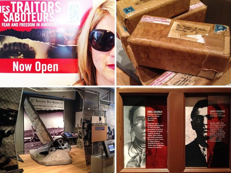 Only in Arkansas - Clinton Library Spy Exhibit - Collage One