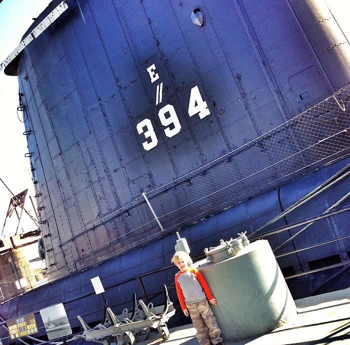 Exploring the USS Razorback Submarine in Little Rock