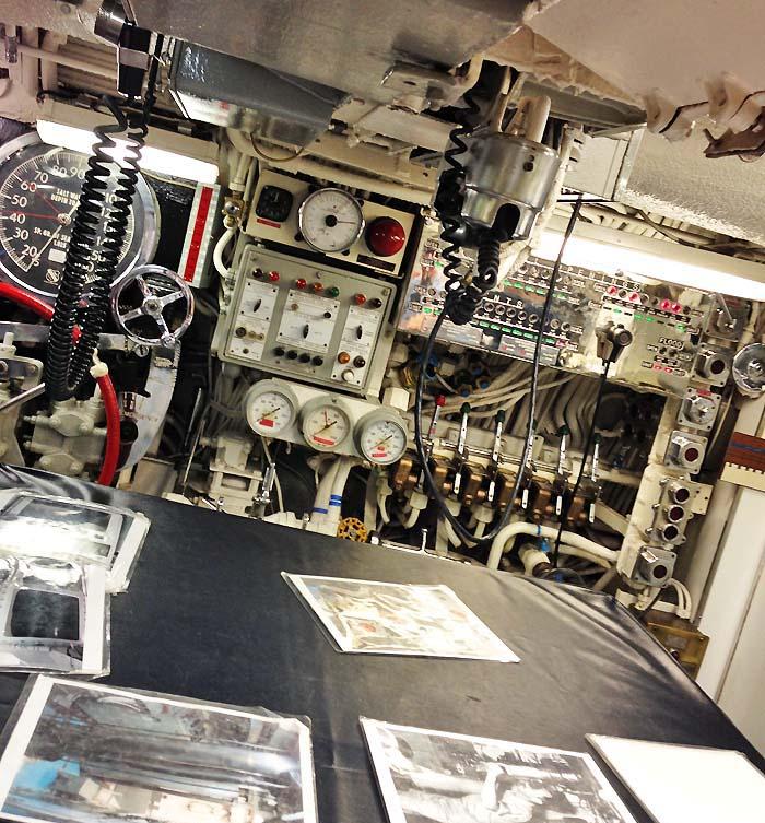 USS Razorback Control Room