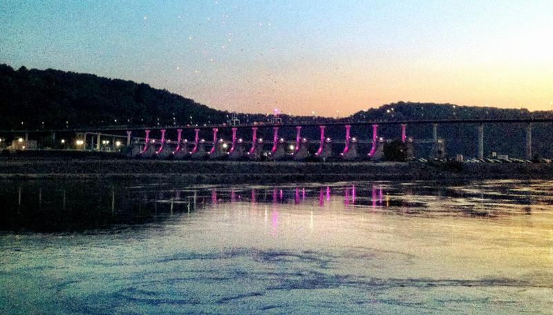 Little Rock Bridges - Only In Arkansas - Big Dam Bridge