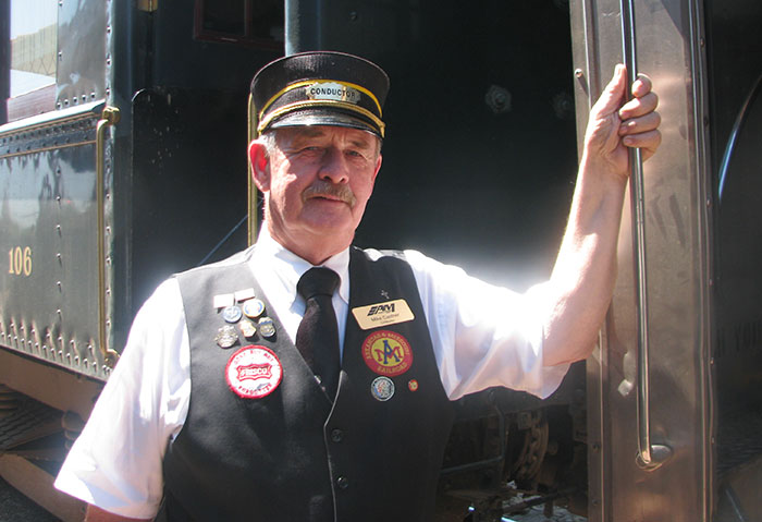 Arkansas Excursion Train Conductor
