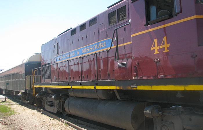Arkansas Excursion Train Engine