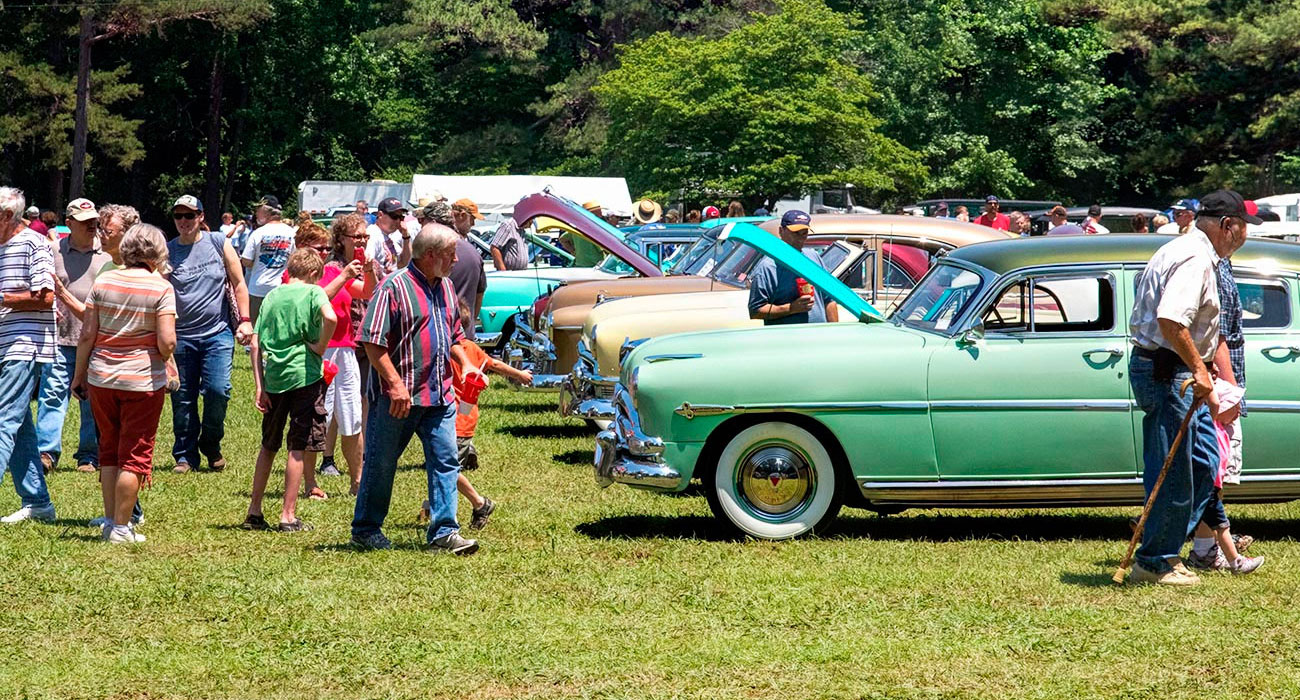 Petit Jean Mountain Auto Show and Swap Meet - Only In Arkansas