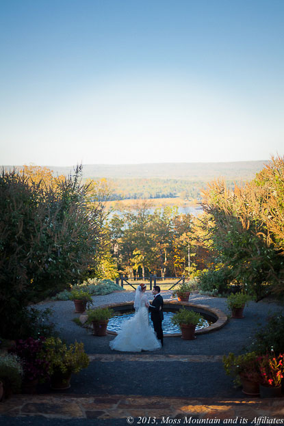 East Rose Lawn - Moss Mountain Wedding - Arkansas Weddings