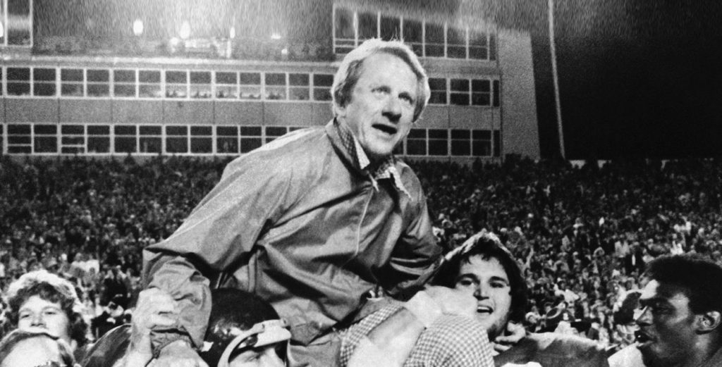 Leading Arkansas to the Top - Frank Broyles' Legacy