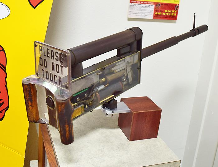 World War II Aerial Machinegun at the Daisy Airgun Museum