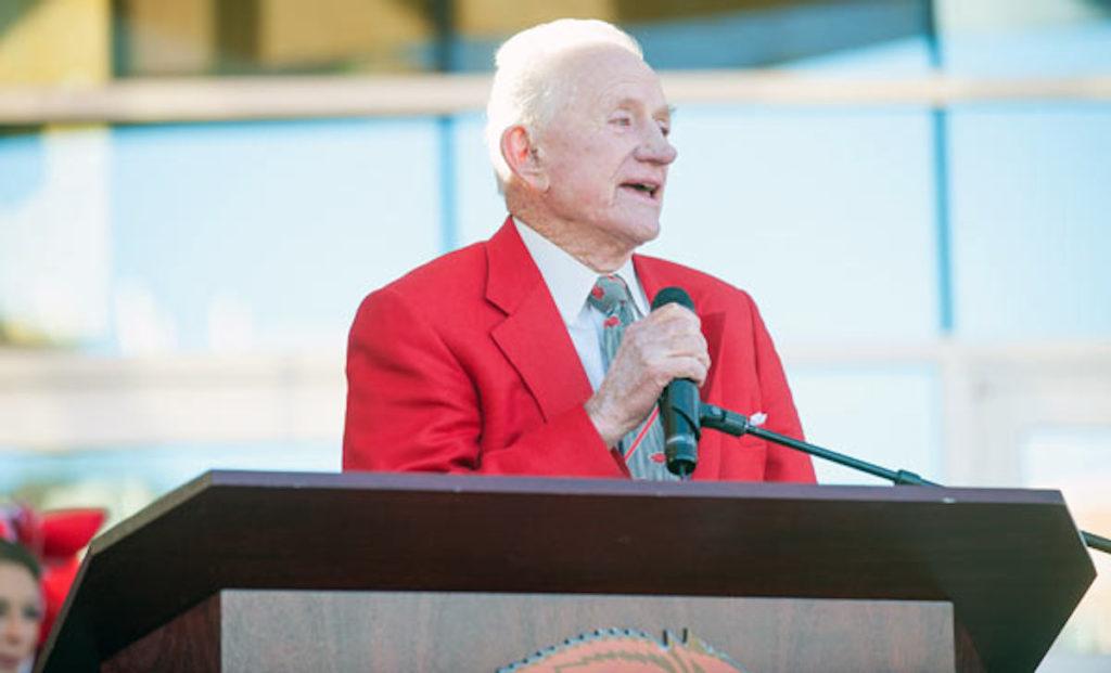 University of Arkansas Legend Frank Broyles