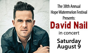 David Nail Watermelon Festival Concert Tickets