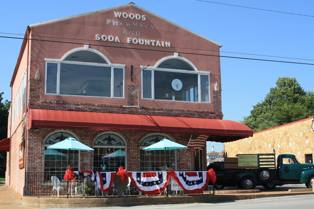A day of family fun near fifty six first security bank for Old fashioned soda fountain near me