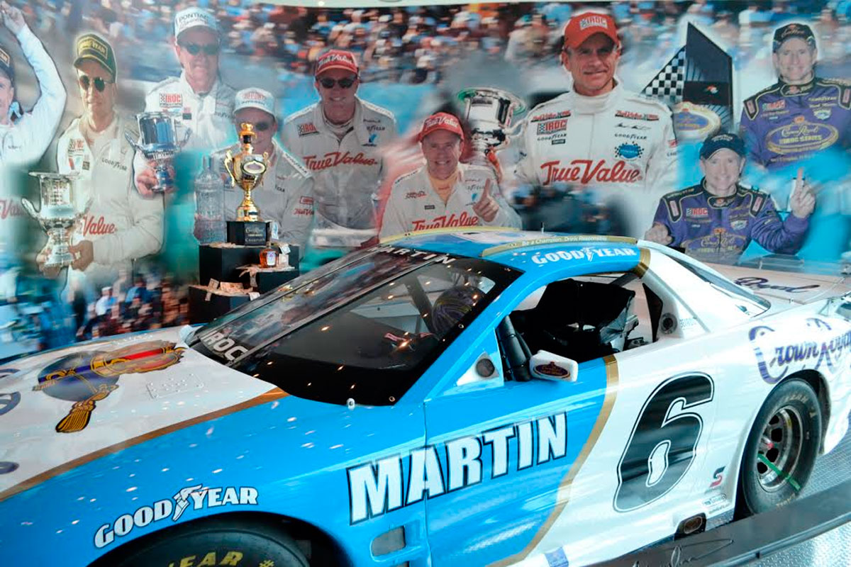 Mark Martin Museum Only In Arkansas First Security Bank