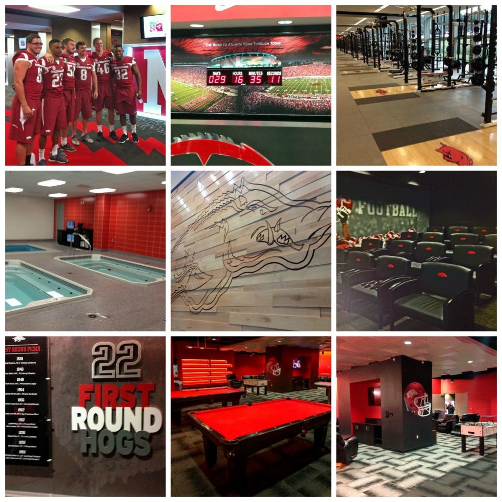 Razorback collage