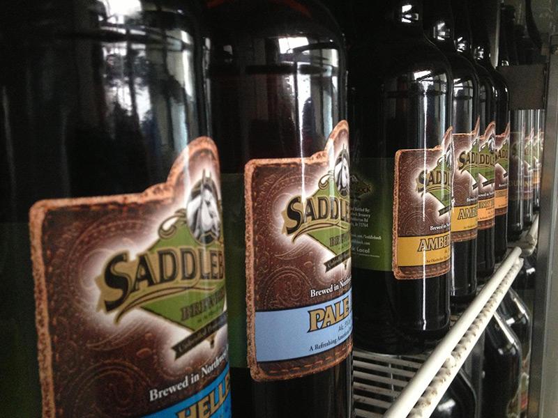 Saddlebock Dirty Pale and Amber