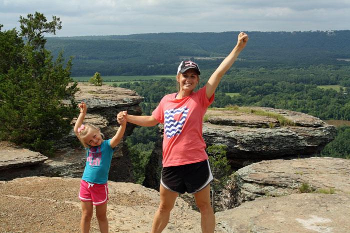 Sugarloag-Trail-Success, Hiking Sugar Loaf Mountain, Only In Arkansas
