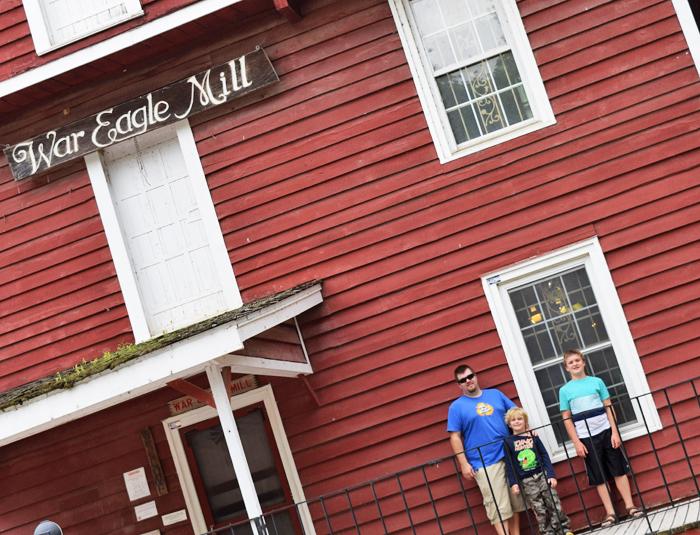 Visiting War Eagle Mill in Northwest Arkansas