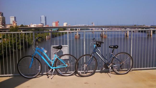 bike trail Little Rock, Trail of Two Cities