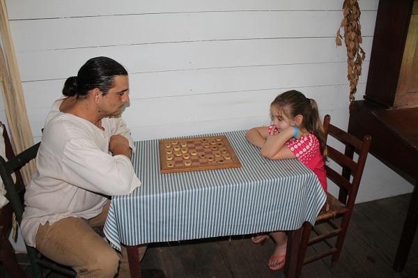 Historic Washington Handmade checkers