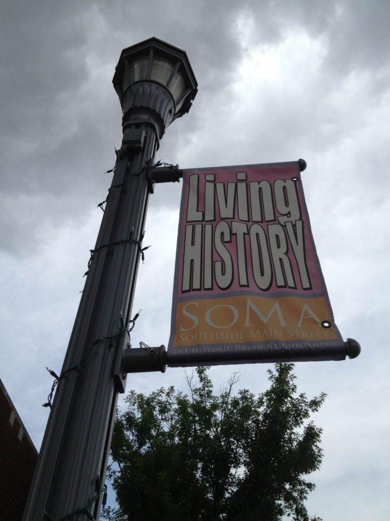 Sign, SoMa - Southside Main Street, Little Rock