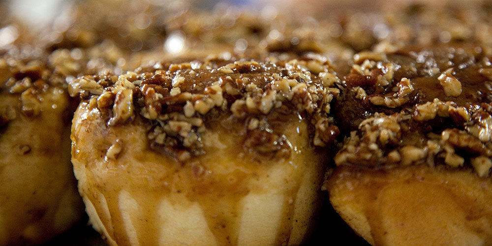 Jasper sticky buns, 6 things to do in Jasper