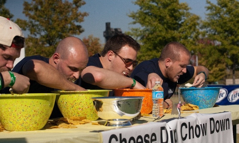 Cheese Dip Chow Down Contest