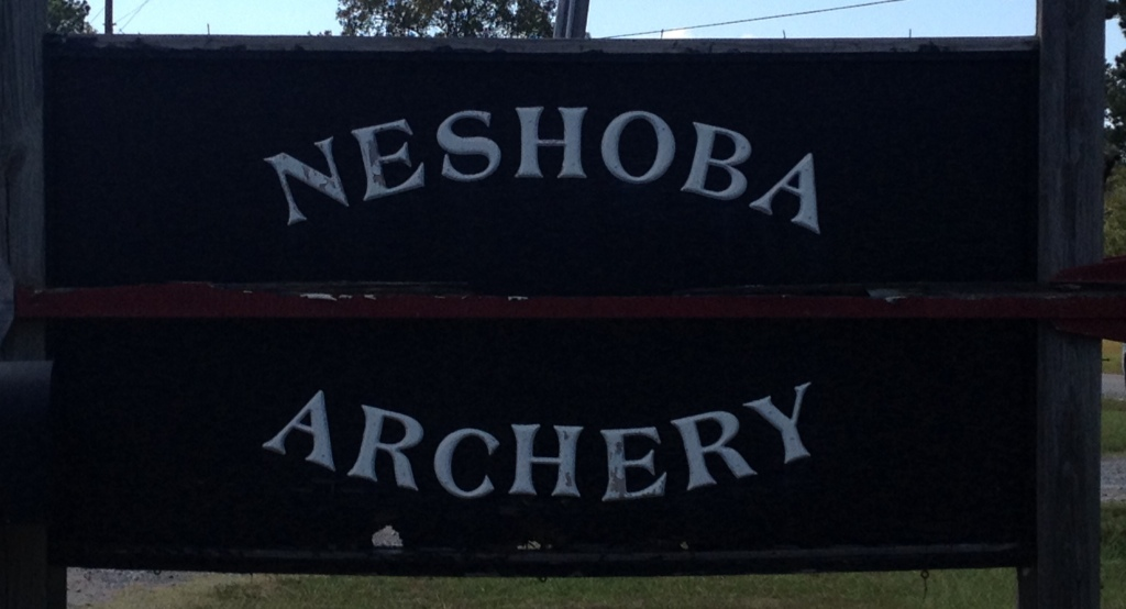 Neshoba Archery Sign