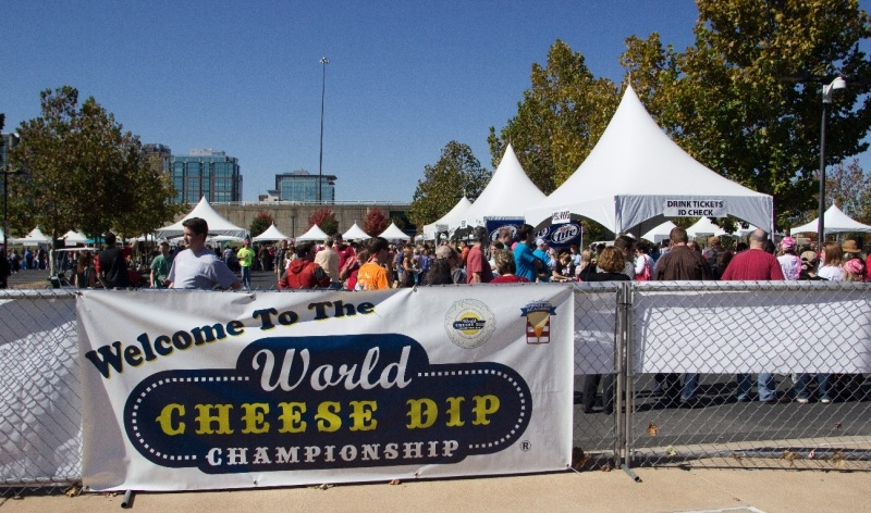 Welcome To The World Cheese Dip Championship