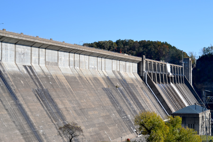 norfork-fish-hatchery dam