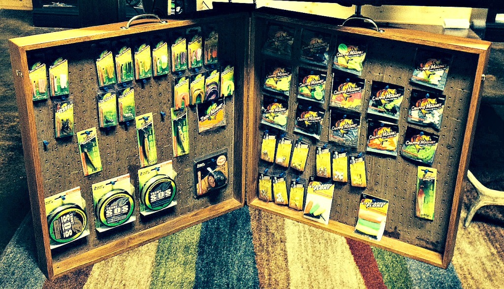 Trout Magnet Display Case Only In Arkansas