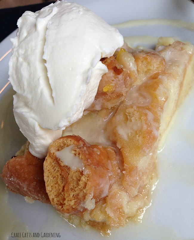 Donut Bread Pudding - Wilson Cafe