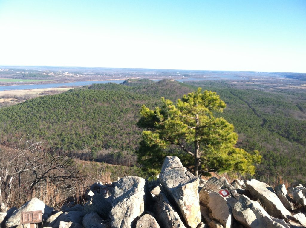 Pinnacle Mountain Only In Arkansas