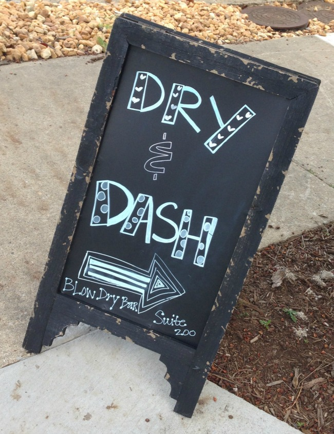 Dry and Dash Blowout Bar