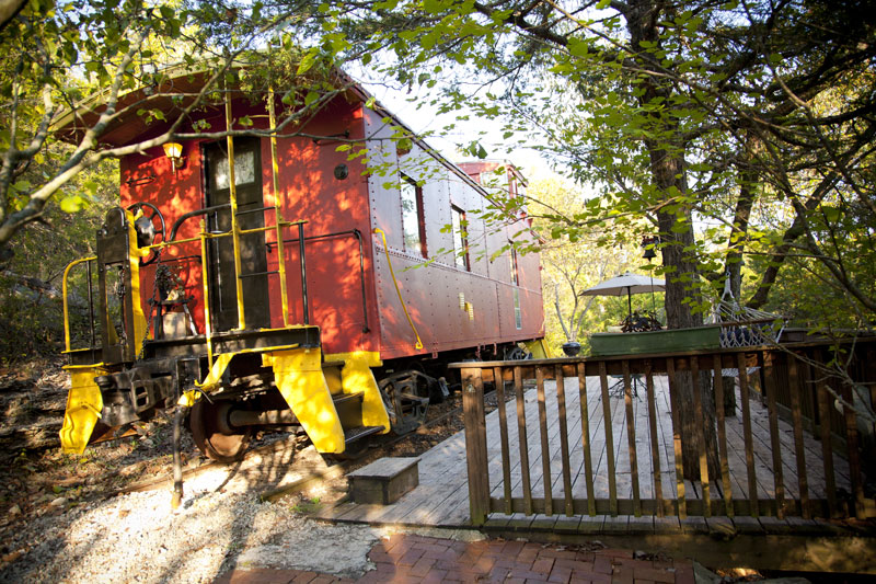 livingston junction caboose
