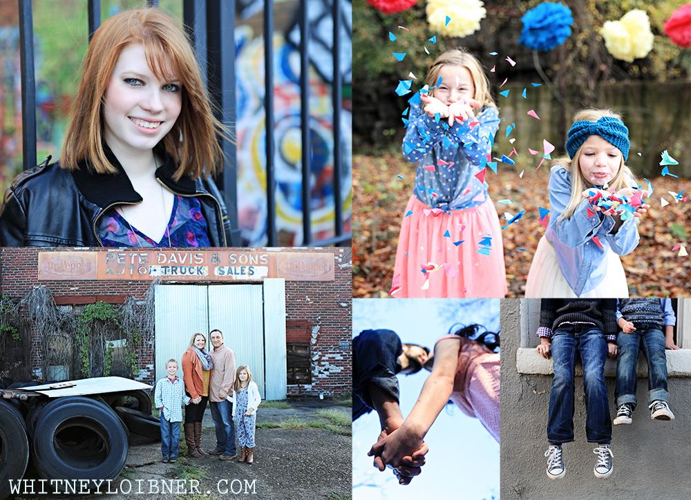 whitney loibner photo collage