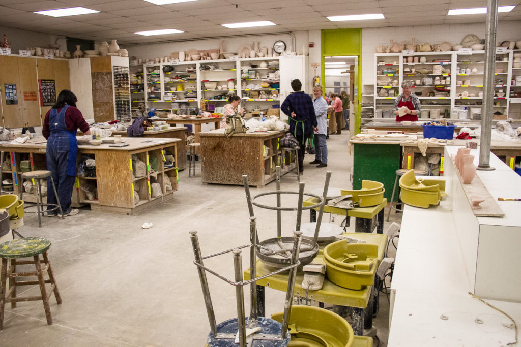 Arkansas-Arts-Center-Museum-School-Pottery-Studio