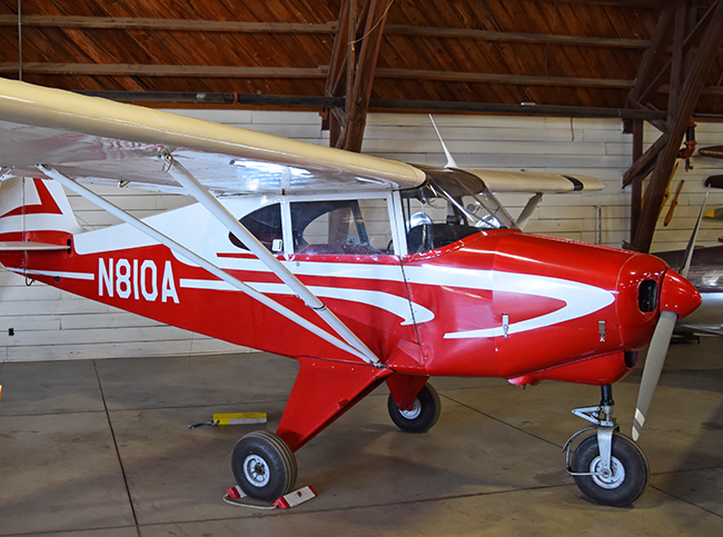 Piper Tri-Pace Aircraft at Arkansas Air and Military Museum