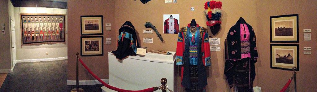 native american museum display