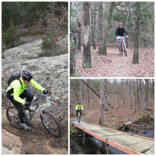 Mountain Biking in Arkansas with Family