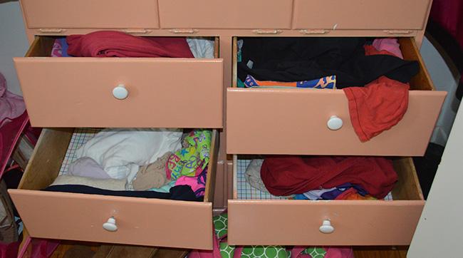 Closet Organize Before