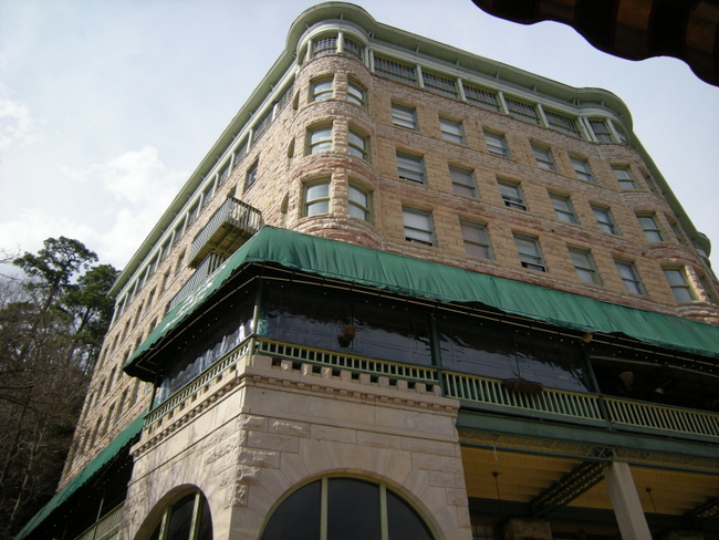 Eureka Springs Basin Park Hotel By Kat Robinson 1
