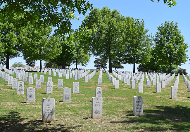 National Cemetery in Fayetteville
