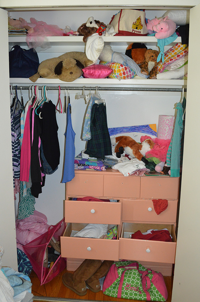 Tiday for SPring closet before