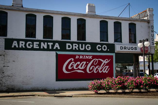 Argenta Summer Saturday - Argenta Drug Coke Wall
