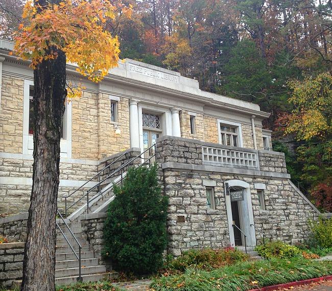 Carnegie Library, Eureka Springs, Ar