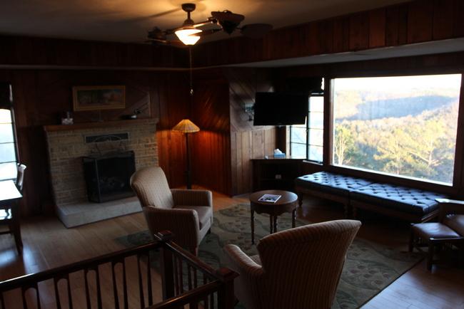 Eureka Springs Crescent Hotel living room 2