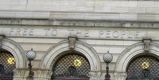 Free to the People. Carnegie Libraries