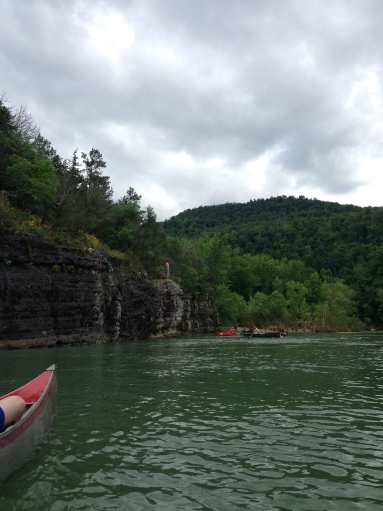 Floating the Buffalo River, Arkansas