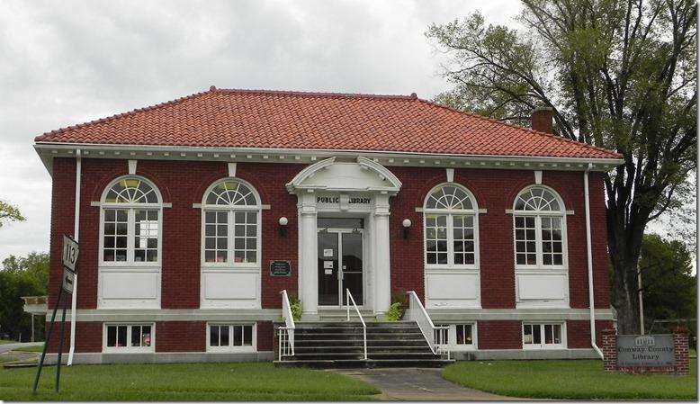 Morrilton, AR library